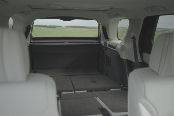 What is Land Rover Intelligent Seat Fold?